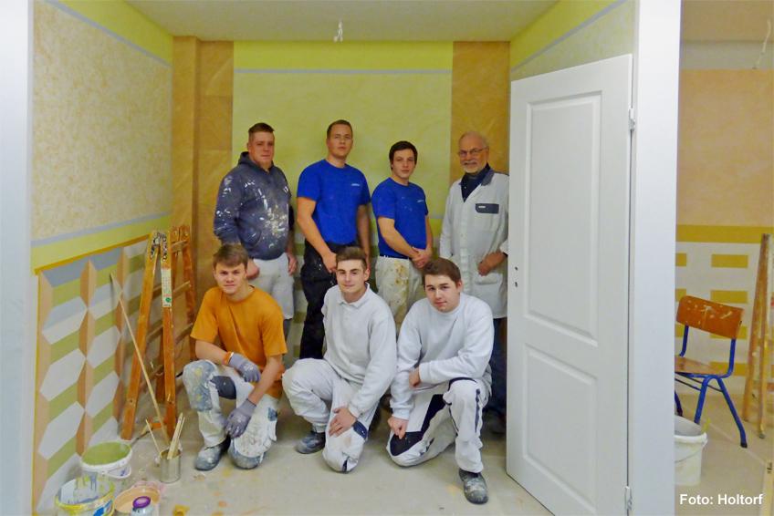 Maler und lackierer ausbildung  Überbetriebliche Ausbildung 2016